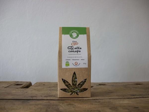 Tisana CBD Extra tè di canapa 4%, 35 g